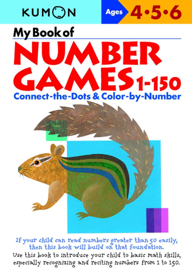 MY BOOK OF NUMBER GAMES 1-150 - Jashanmal Home