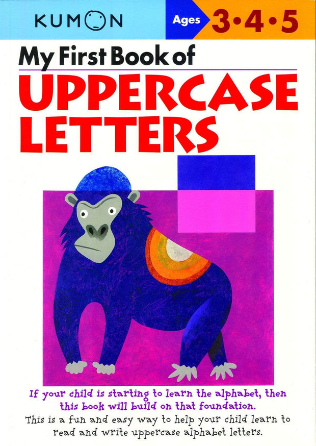 MY FIRST BOOK OF UPPERCASE LETTERS - Jashanmal Home