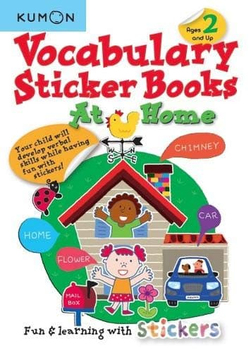 VOCABULARY STICKER BOOKS AT HOME - Jashanmal Home