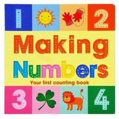 Making Numbers Your First Counting Book
