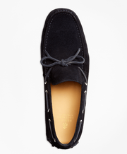 BROOKS BROTHERS SHOE ML SUEDE DRIVER NAVY - 000100083774 042