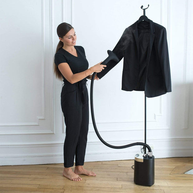 SteamOne Minilys Plus Black Garment Steamer 1900W - MI60MBUK
