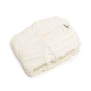 AHSEN 3PC BATHROBE SET CREAM - 103-CRM - 103-CRM