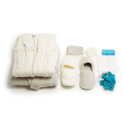 GIZEM 16PC TOWEL SET GREY & CREAM - 107-GRY/CRM - 107-GRY/CRM