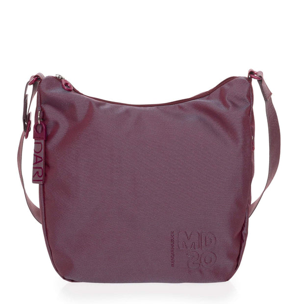 MD20 TRACOLLA BIG HOBO CROSSOVER RED PLUM