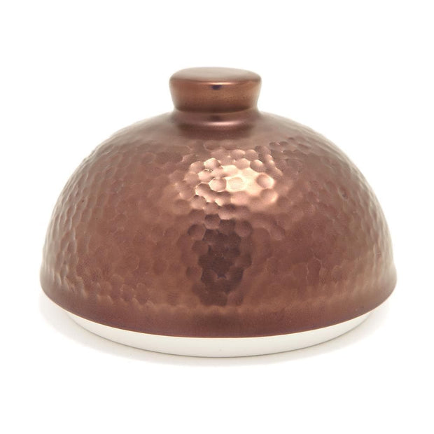 Porland Porselen Legacy Copper Sugar Bowl with Lid - 04ALM004363 - Jashanmal Home