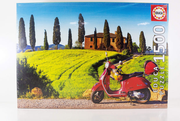 1500 SCOOTER IN TOSCANA