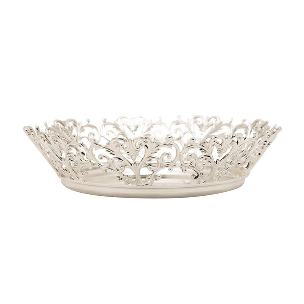 SILVER PLATED ROUND BOWL