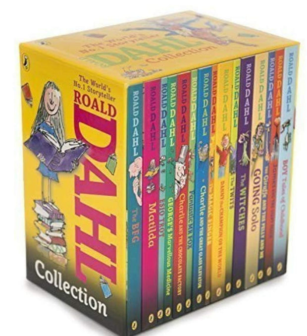 Roald Dahl 15-Book Boxed Set