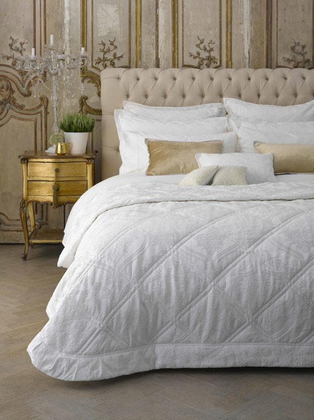 Christy Rochester Super King Bedspread Set White-41096830