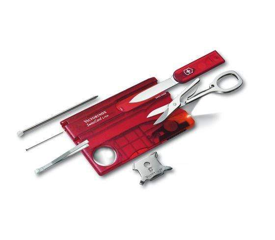 Victorinox Swisscard Lite Red Translucent - 0.7300.T - Jashanmal Home