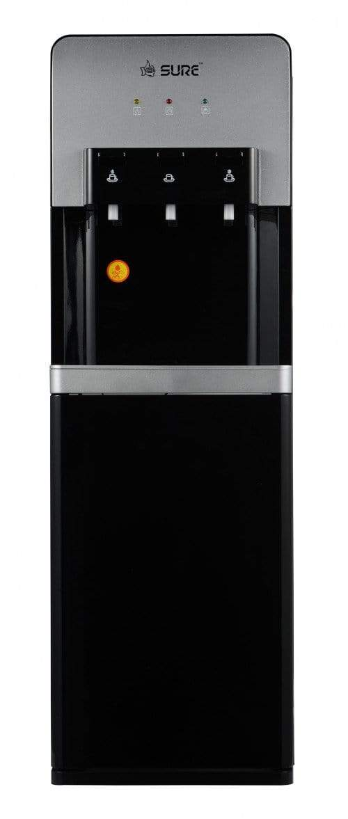 SURE BLACK WATER DISPENSER (HOT COLD AND NORMAL) - SURESF1980BP