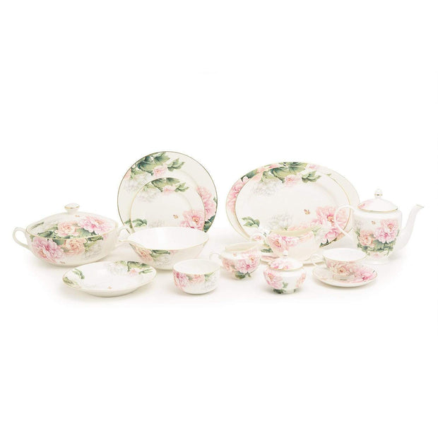 Stechcol Reene Fbc Dinner Set - 85 Pieces - S14182C-CLR-DIN85A