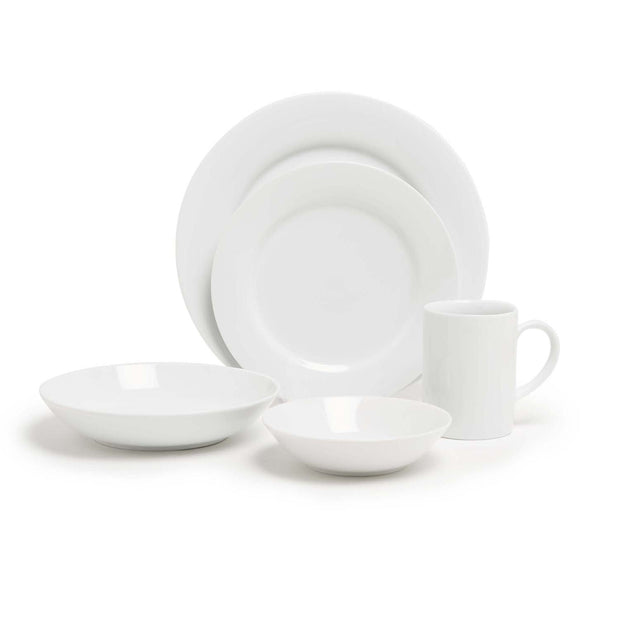 KASEY WHITE 20PC DINNER SET