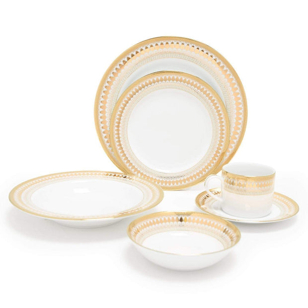Dankotuwa Porcelain Luann Dinner Set - 24 Piece - LUAN-24DS - Jashanmal Home