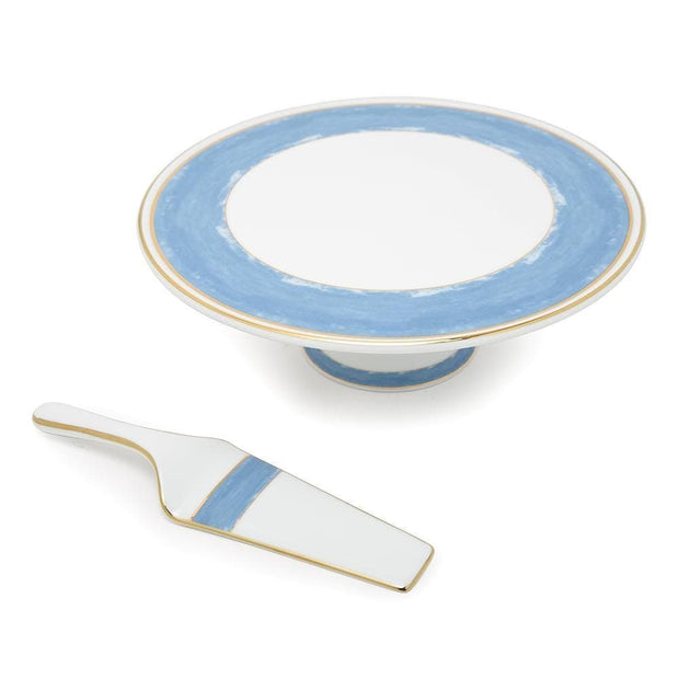 Dankotuwa Azura 1 Tier Cake Stand with Serving Spatula - AZUR-904/121/548 - Jashanmal Home