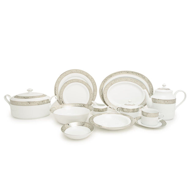 Dankotuwa Catherina Dinner Set - 59 Piece - CATH-59DS - Jashanmal Home
