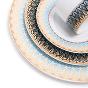 Dankotuwa Elsa Gold Dinner Set - 83 Pieces - ELSAGLD-83DS