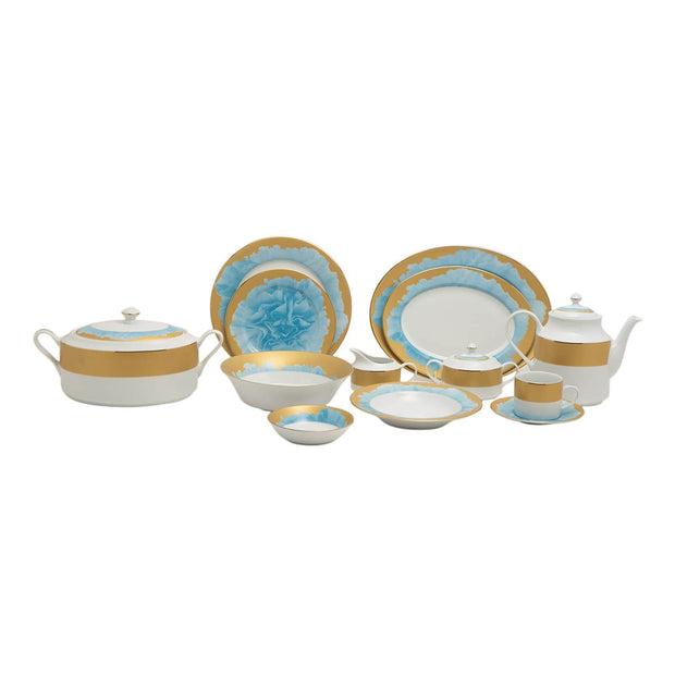 ALICIA 59PC DINNER SET - ALIC-59DS