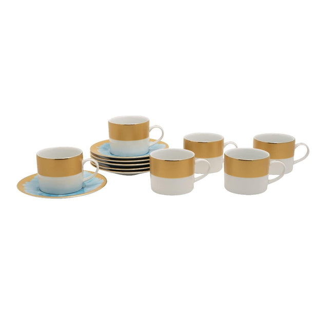 ALICIA 6+6 COFFEE CUP AND SAUCER