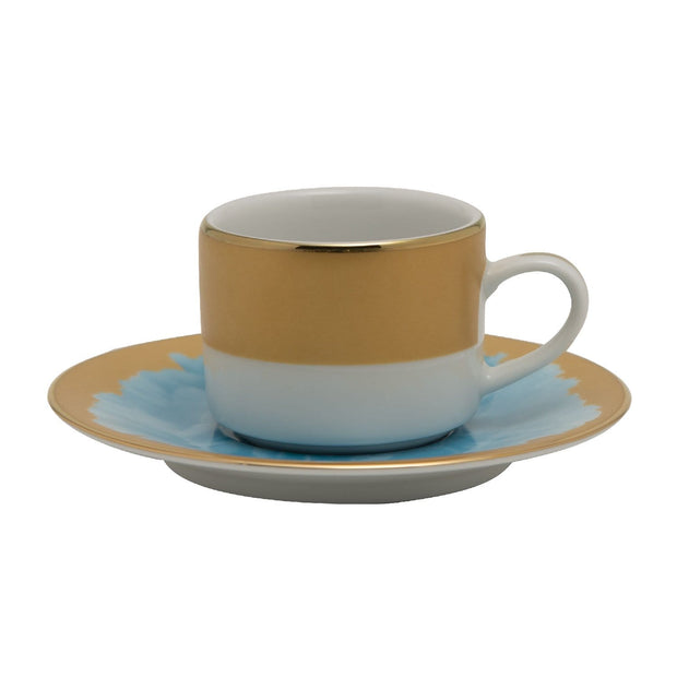 ALICIA 6+6 COFFEE CUP AND SAUCER - ALIC-692/693/6