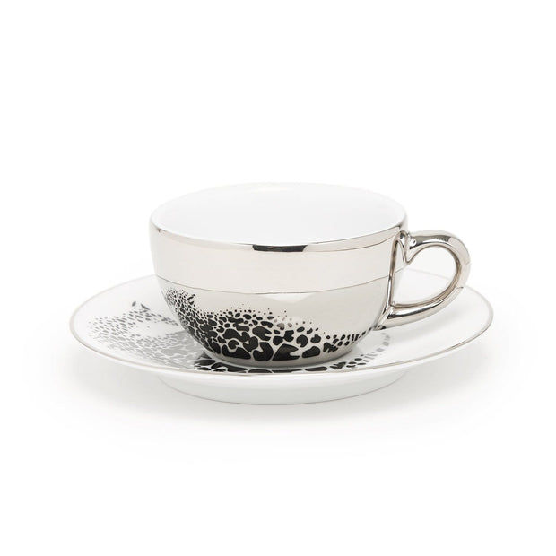 TIGER 6+6 COFFEE CUP & SAUCER IN GIFT BOX