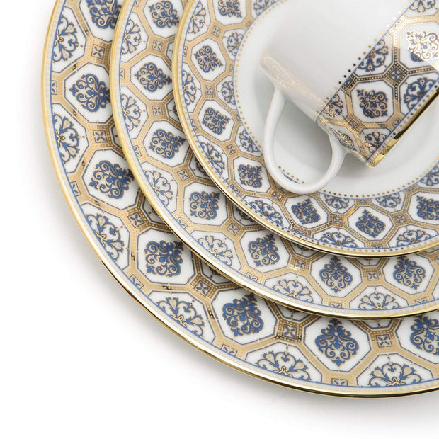 Dankotuwa Doris Grey Dinner Set - 59 Pieces - DORGRG-59DS