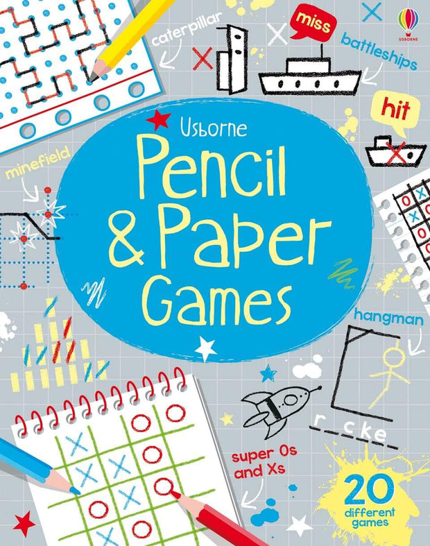 PENCIL & PAPER GAMES - Jashanmal Home