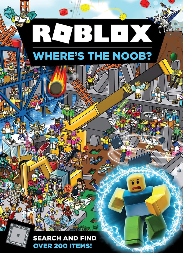 ROBLOX WHERES THE NOOB SEARCH AND FIND BOOK - Jashanmal Home