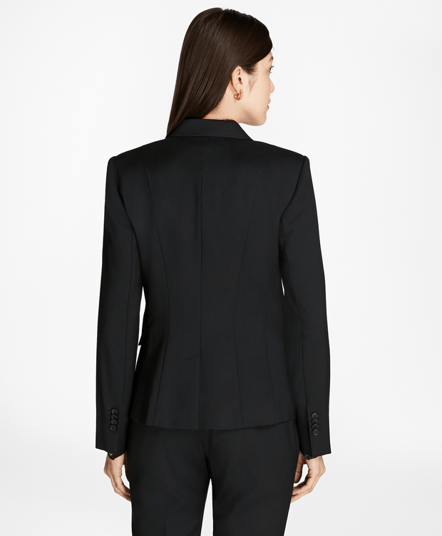 BROOKS BROTHERS SEP JKT WV 2B LS BLACK WOMEN'S JACKETS - 100065235
