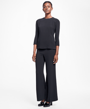 BROOKS BROTHERS SEP BLS VI EA 3QTR BLACK WOMEN'S SEPARATES - 100064186