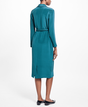 BROOKS BROTHERS SFT DRS SLK VNCK LS MING GREEN WOMEN'S SEPARATES - 100065096
