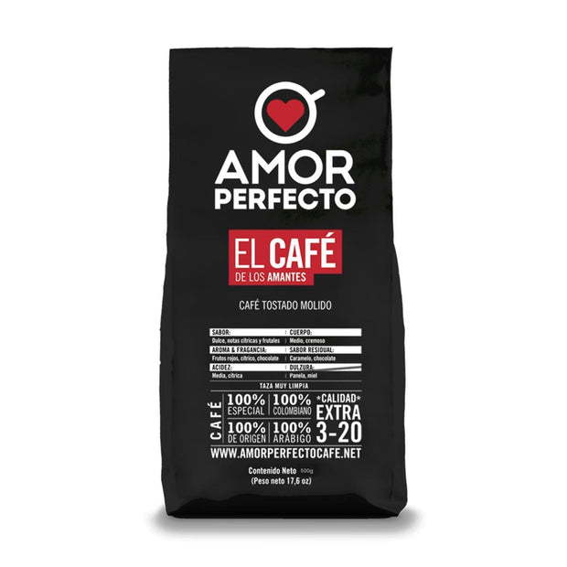 Amor Perfecto Signature Ground Coffee Bag - 250 g - 42637 - Jashanmal Home