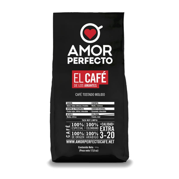 Amor Perfecto Signature Coffee Beans Bag - 500 g - 26857 - Jashanmal Home