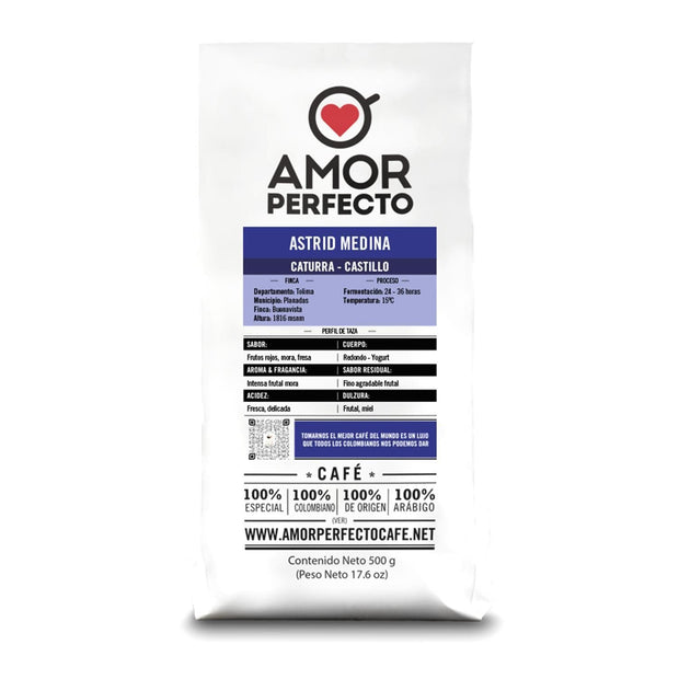Amor Perfecto Astrid Medina Trace Coffee Beans - 500 g - 42620 - Jashanmal Home
