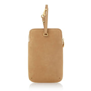 Any Di Cowhide Leather Pouch - Light Brown - HC101503-LB - Jashanmal Home