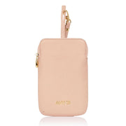 Any Di Cowhide Leather Pouch - Apricot - HC101503-AP - Jashanmal Home