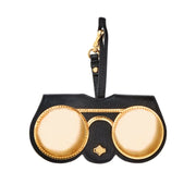 Any Di Cowhide Golden Eye Leather Sunglasses Cover - SP101602-SG - Jashanmal Home