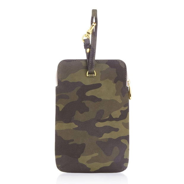 Any Di Cowhide Leather Pouch - Camouflage - HC101503-CA - Jashanmal Home