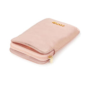 Any Di Cowhide Leather Pouch - Rose Gold - HC101503-RG - Jashanmal Home