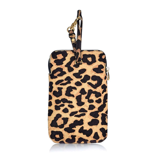 Any Di Cowhide Leather Pouch - Leo Fur - HC101503-LF - Jashanmal Home