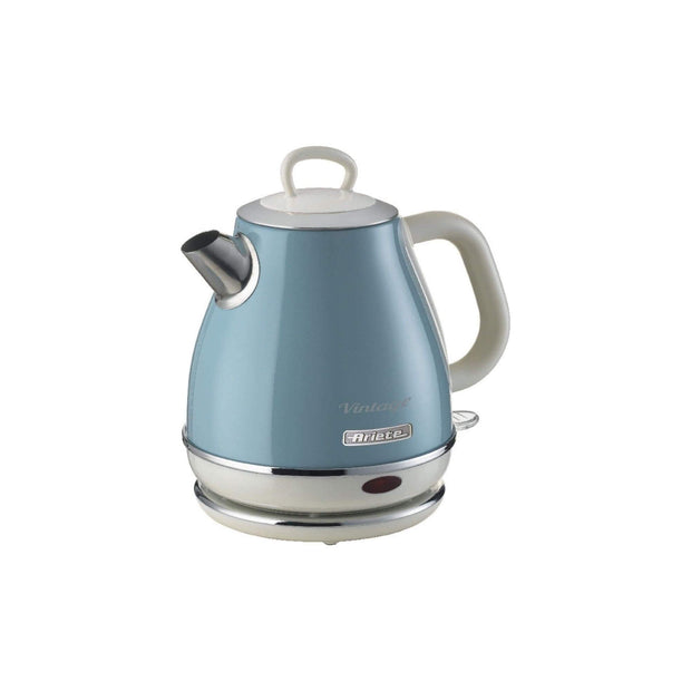 ARIETE VINTAGE KETTLE 1L, CREAM/BLUE, 2868