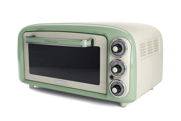 ARIETE VINTAGE ELECTRIC OVEN CREAM/GREEN, 979-GR
