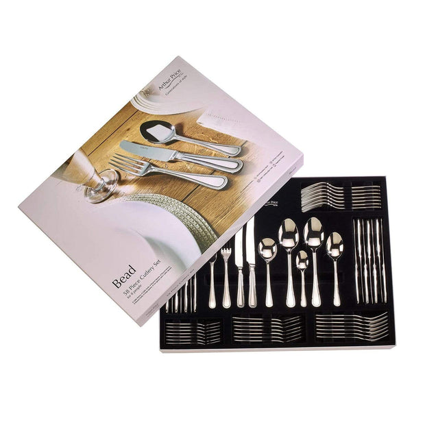 Arthur Price Bead Cutlery Set - 58 Piece - ZBIS5801 - Jashanmal Home