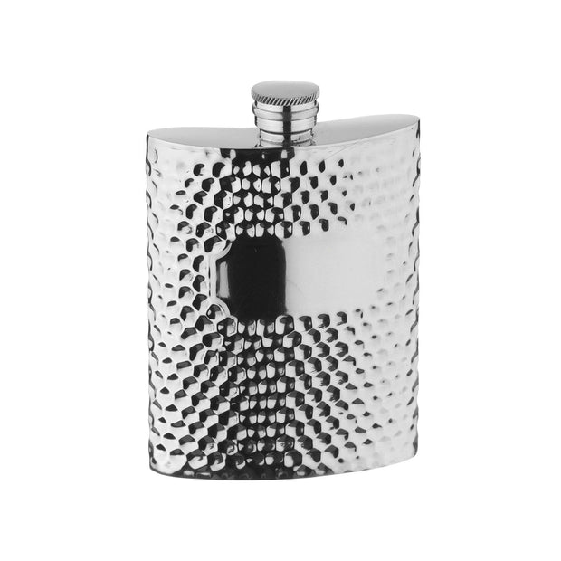 Arthur Price Waterford Hammered Pewter Hip Flask - 6 oz. - XPTN6009 - Jashanmal Home
