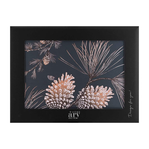 Ary Home 2 Piece Pine Cone Thunder Placemat Set - Multicolour, 40 x 30 cm - 4030B-428 - Jashanmal Home