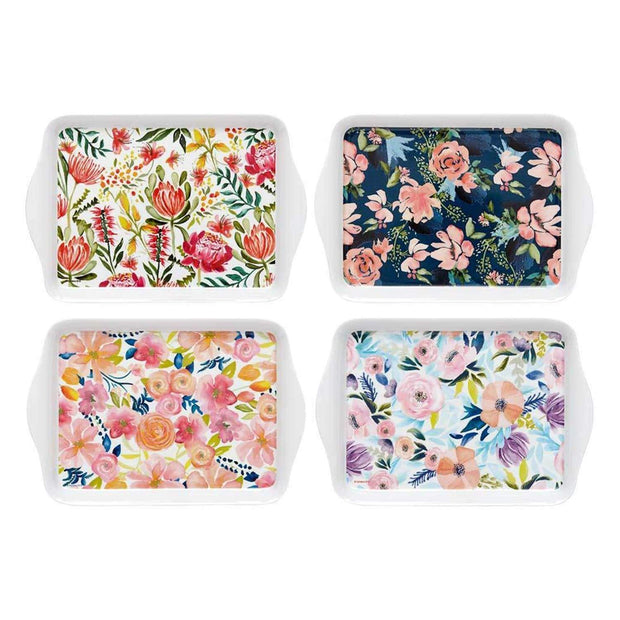 Ashdene Seasons In Bloom Moody Magnolia Design Scatter Tray - 517258 - Jashanmal Home