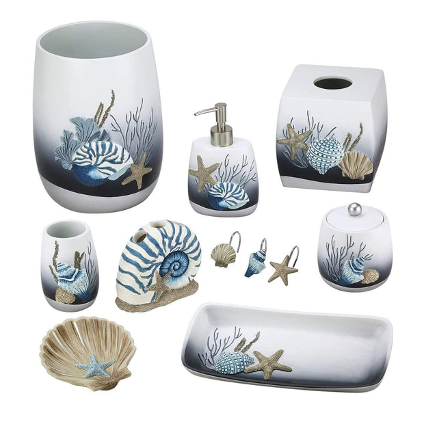 Avanti Blue Lagoon Toothbrush Holder - Multicolour - 13655B - Jashanmal Home