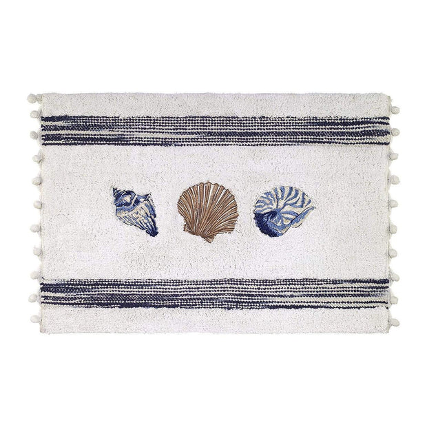 Avanti Blue Lagoon Bath Rug - Multicolour - 13655J - Jashanmal Home