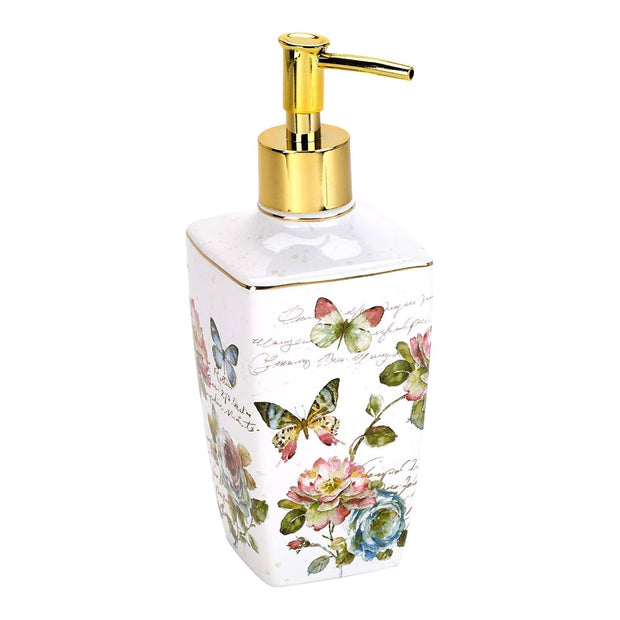 Avanti Butterfly Garden Lotion Dispenser - Multicolour - 13882D - Jashanmal Home